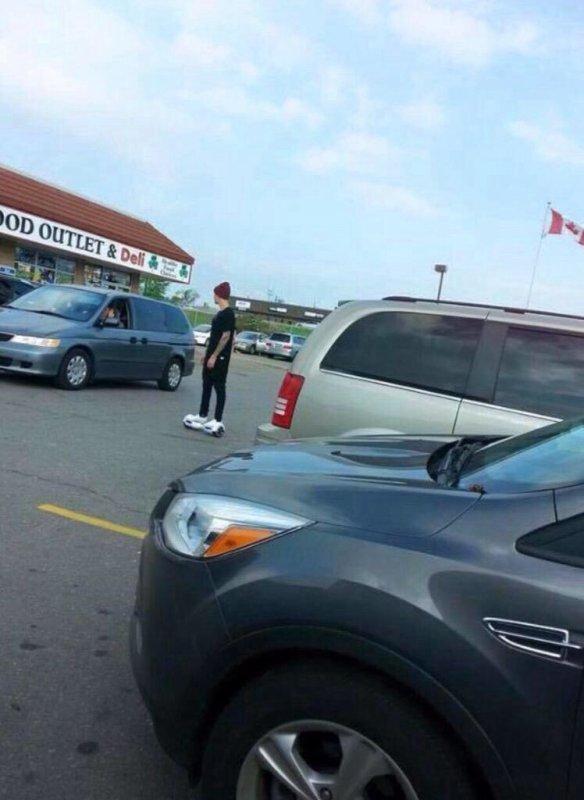 Justin au Canada