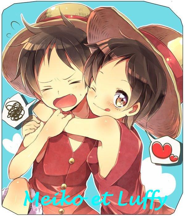 Meiko et Luffy