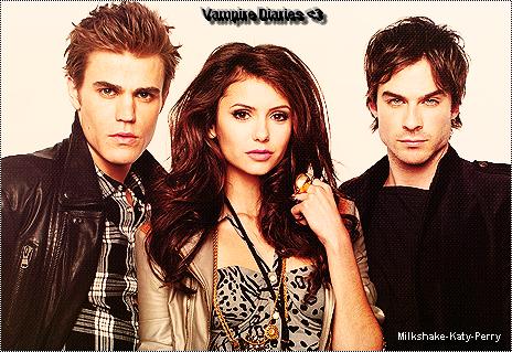 Petite Dédicasse Pour Vampire Diaries . :) Ma séries Préférer ♥ *.*