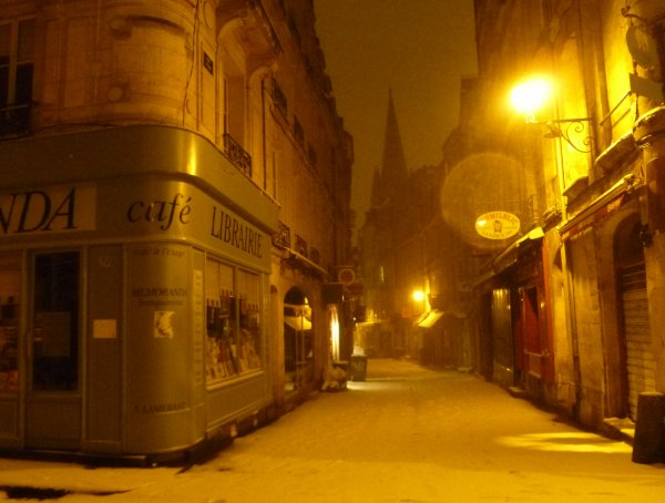 Ce que la ville est belle, les nuits d'hiver.