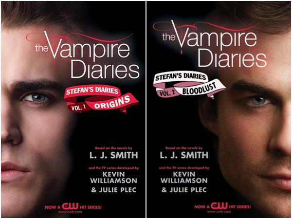 nouvelle couverture pour les tom 1et 2 de the vampire diaries