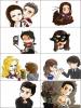 Caricatures sur The Vampire Diaries