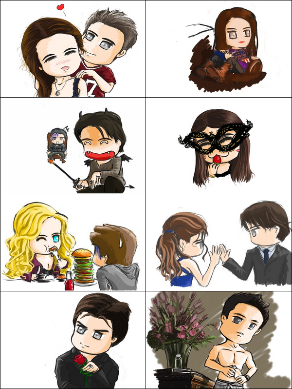 Caricatures sur the vampire diaries blog de the vampire - Vampire diaries dessin ...