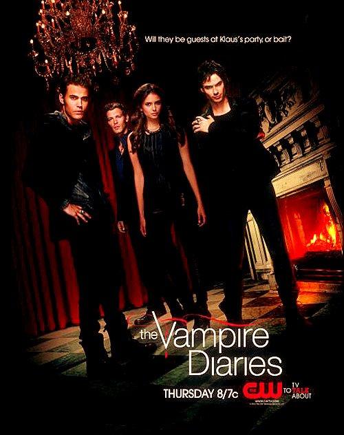 Affiche promotionelle de The Vampire Diaries saison 3 - les affiches son magnifique