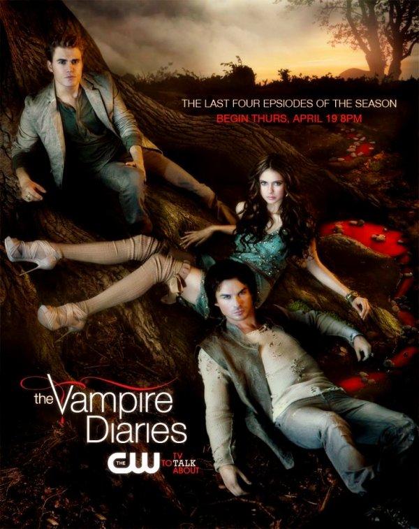 De nouvelles affiche promos - pour vampire diaries saison3 !!!!