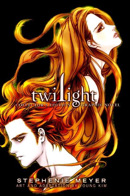 Une édition collector regroupant les deux volumes du roman graphique de Twilight/Fascination sortira en octobre prochain ! La couverture a  été dévoilée