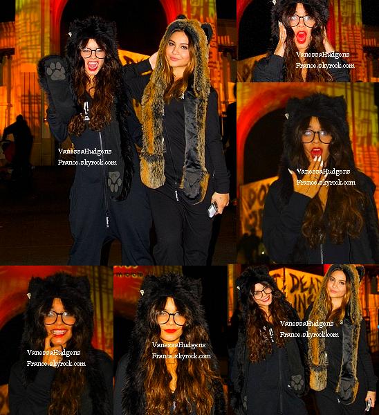 "28.10.13 » Vanessa au ""Halloween Horror Show"" à Los Angeles."