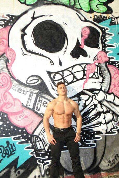 GRAFF AND BODY : RICO...l'homme et l'art de la rue...