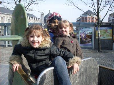mes filles avec thantchès et nanès lol