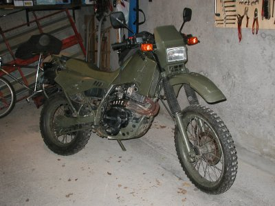 Cagiva 350 T4E version militaire