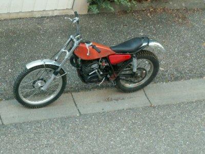 Bultaco Sherpa 350 de 1974
