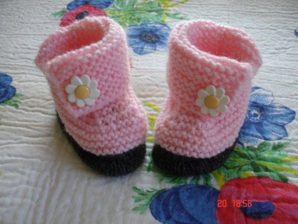 chaussons pour Bébé fille