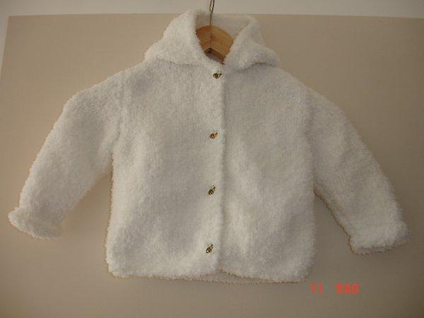 Manteau en laine toute douce et bien chaude