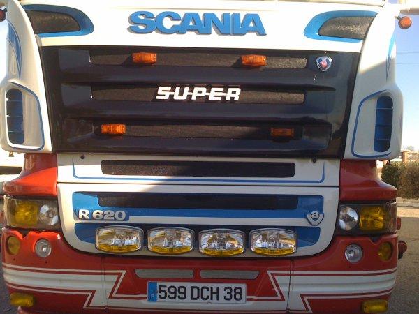 SCANIA TOPLINE R620