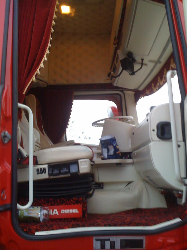 Scania topline interieur camions decores et tuning for Interieur tuning