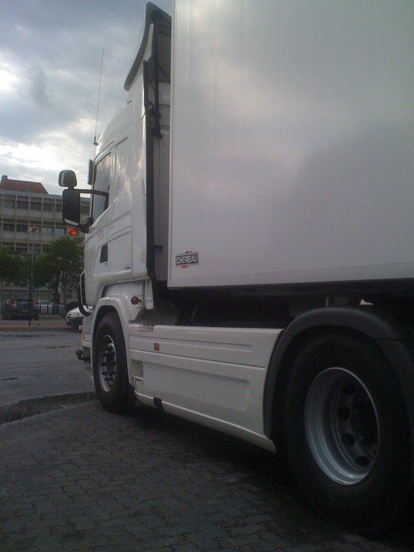 SCANIA HL V8 R500