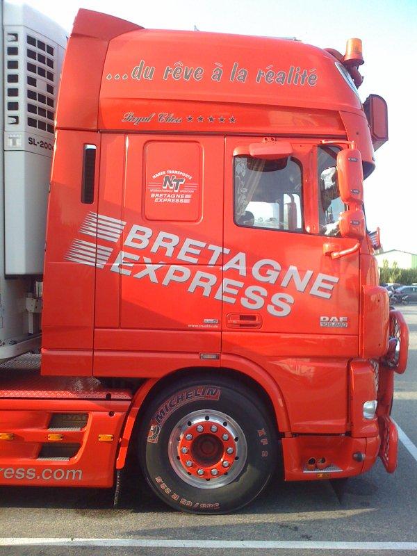 DAF XF105 BRETAGNE EXPRESS