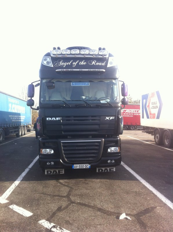 DAF XF 105 ANGEL OF THE ROAD