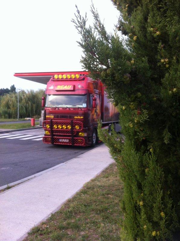 DAF XF TRANSPORT BEAU