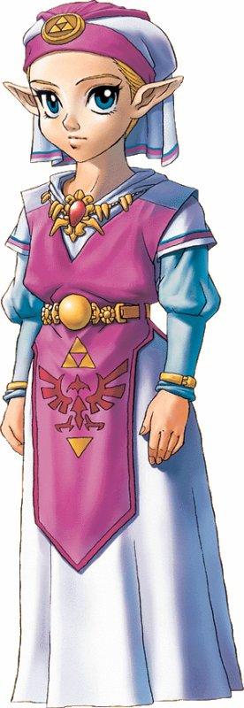 Personnages de Zelda Ocarina Of Time (2)