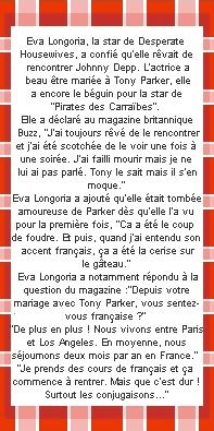 Eva Longoria Créa=Favoris