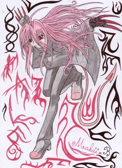 Le 2ème, si vous aimez les mangas, vous saurez le reconnaitre ^^ (enfin peut être)
