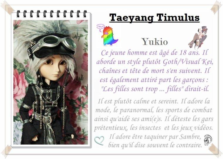~ Présentation Taeyang ~