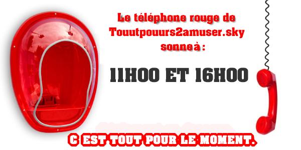 Jeux: Le téléphone rouge de Secret Story !!