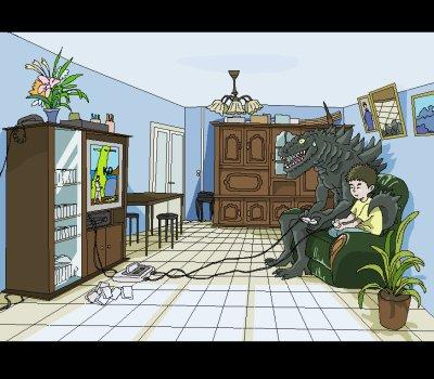 Thème2: Godzilla envahit un souvenir d'enfance
