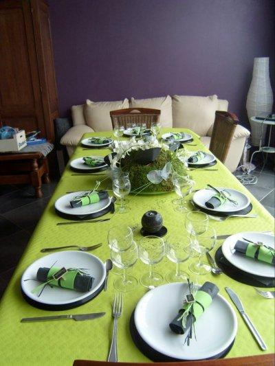 Un milieu de table