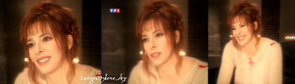 """Souvenir de l'interview de Mylène dans l'émission """"Sept à Huit"""" ♥"""