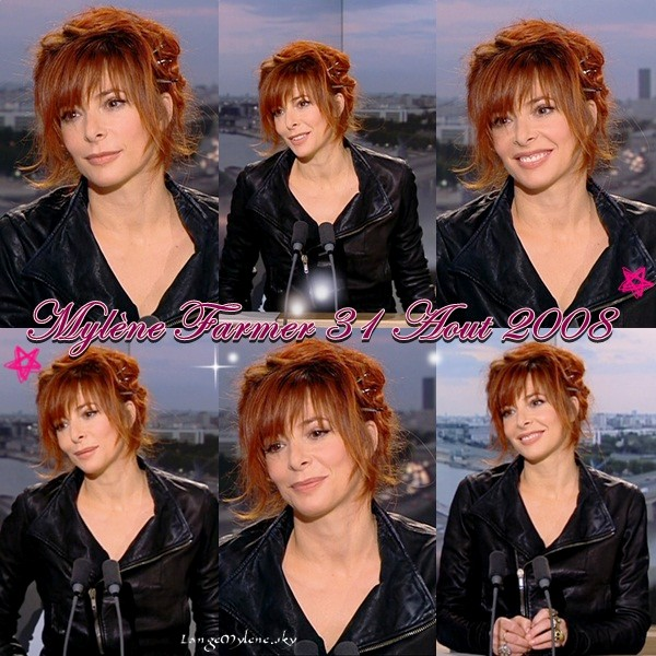 Mylène Farmer, interview de Claire Chazal 2008 ♥