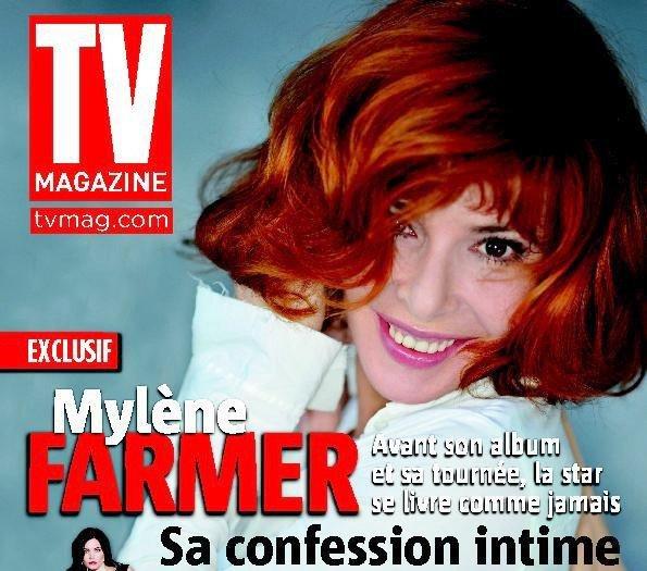 Mylène fait la une de tv Magazine !