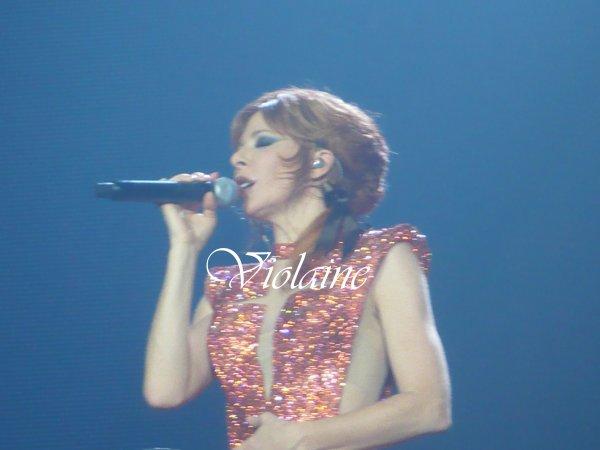 Résumé de mon 3ème concert de Mylène le 22/11/13 à Gayant Expo Douai