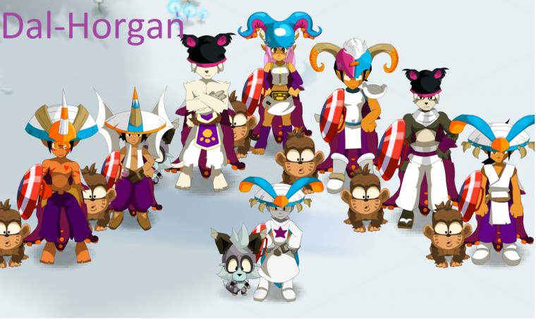 Team Dal-Horgan sur le serveur Rushu