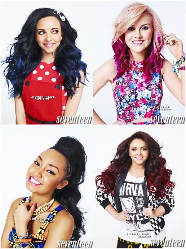 May 17th : Découvrez le nouveau photoshoot des Little Mix fait par Chris Craymer pour le magazine Seventeen.