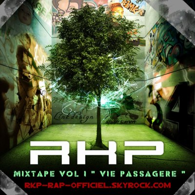 POCHETTE DE LA MIXTAPE VOLUME ONE DE RKP ( image by ManoOfficiel )