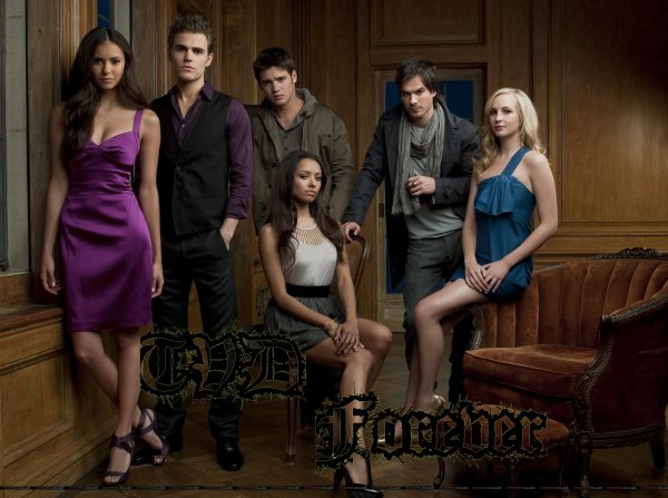 "Ouverture de ma page ""TVD Forever"""