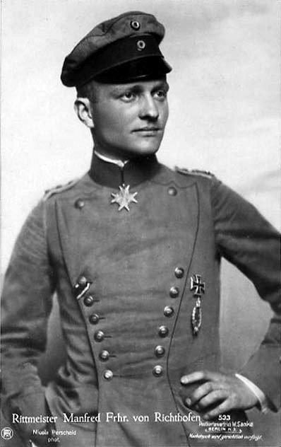 le baron rouge (Manfred von Richthofen)