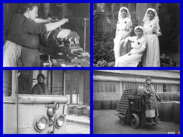 Les femmes dans la Première Guerre mondiale