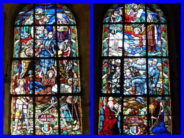 Les vitraux du souvenir