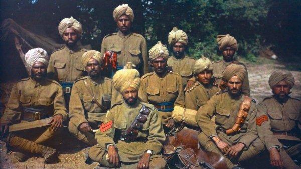 Les troupes indiennes en France 1914-1918