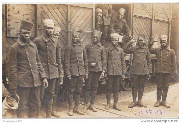 les tirailleurs senegalais