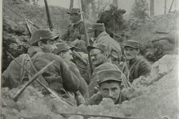 voici l'image qui est la plus représentative ,de la grande guerre.