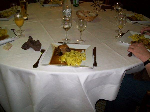 le plat principal