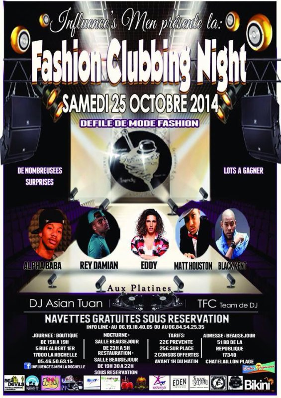 Le 25 Octobre 2014 Rey Damian, Matt Houston, Alpha Baba MabStyl, Black Kent en Showcaise