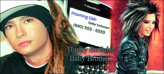 [align=center] [c=#ffffff]...[/c] [/align] [align=center] [c=#ffffff]...[/c] [/align] [align=center] Happy Birthday Baby Brother [/align] [align=center] [c=#ffffff]...[/c] [/align] [align=center] [c=#ffffff]...[/c] [/align]
