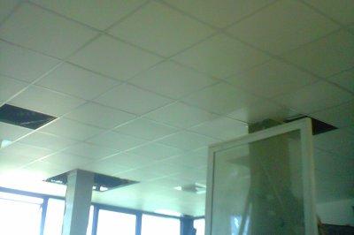 faux plafond démontable