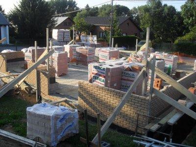 Debut de la construction