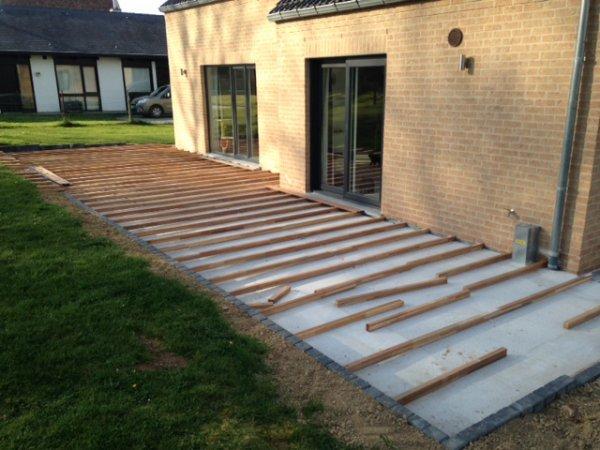 La terrasse se dessine 😊